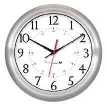 Innovation Wireless Brushed Alauminuim Clock-1